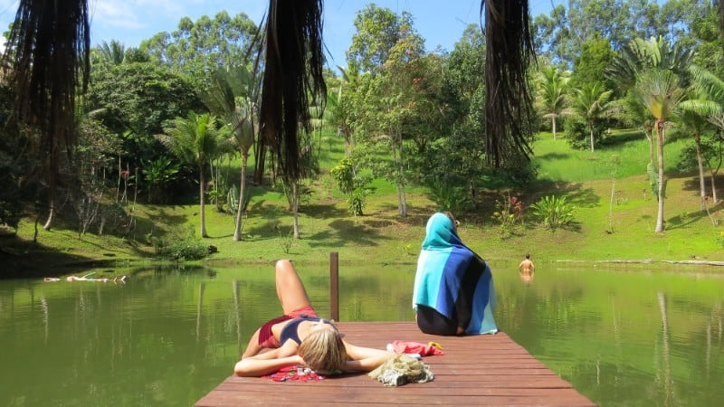Spirit Vine Retreat Center Pond