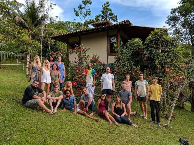 Spirit vine retreat participants