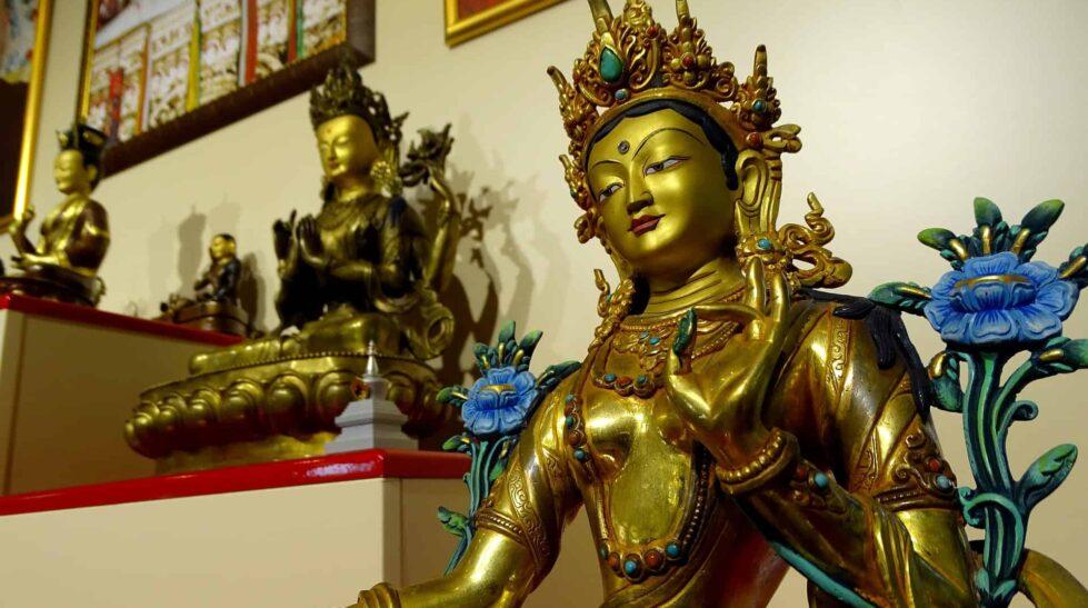 Buddhism figurines